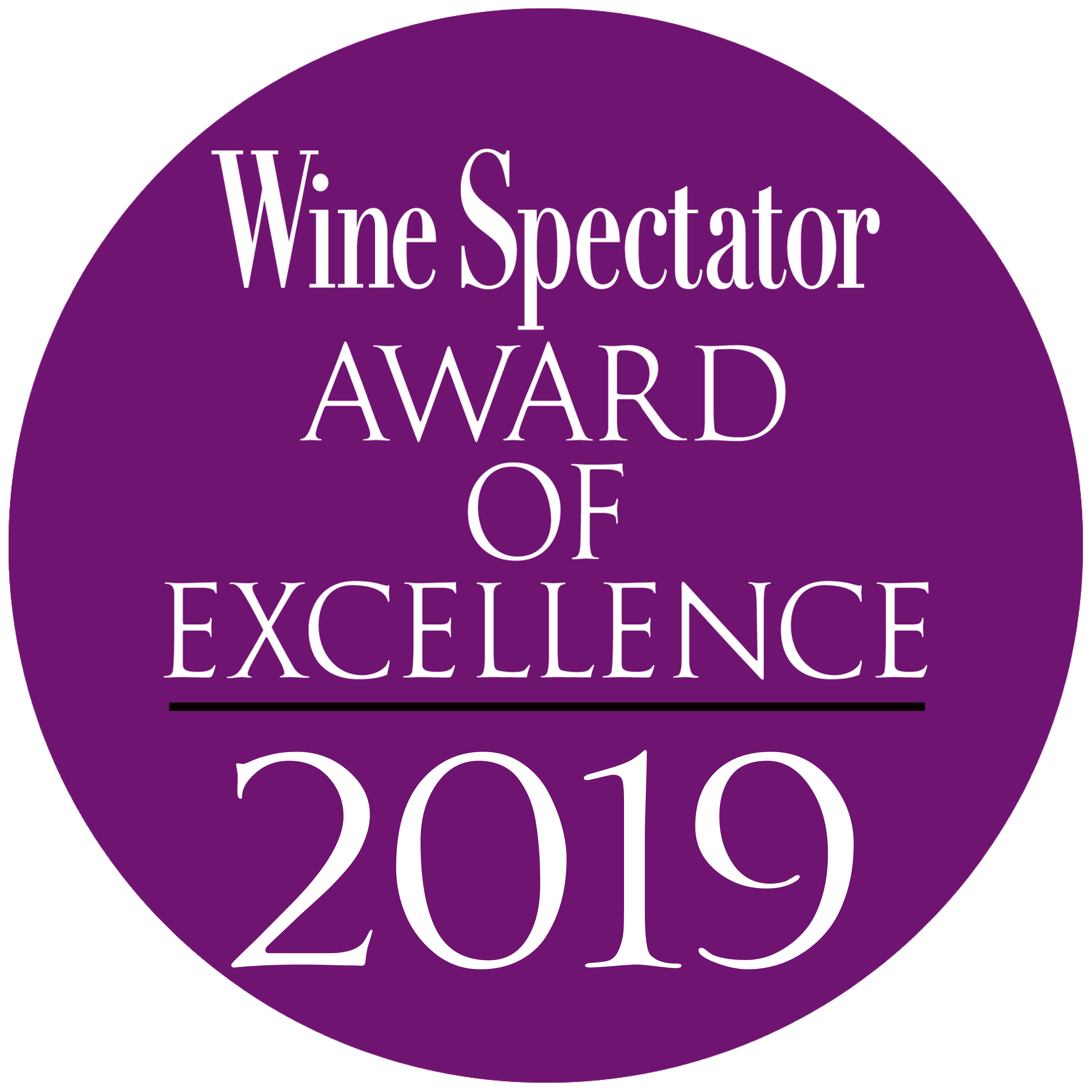award of excellence 2019